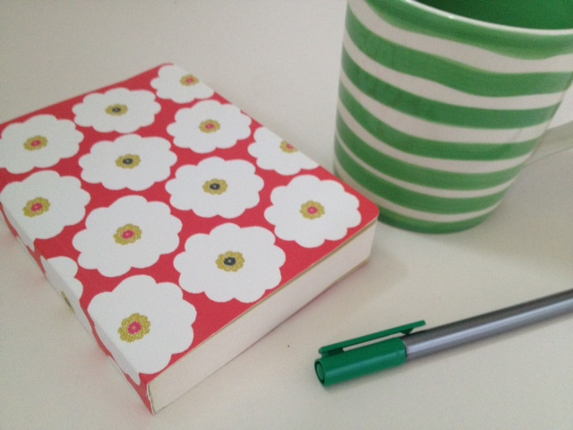 Note book and mug