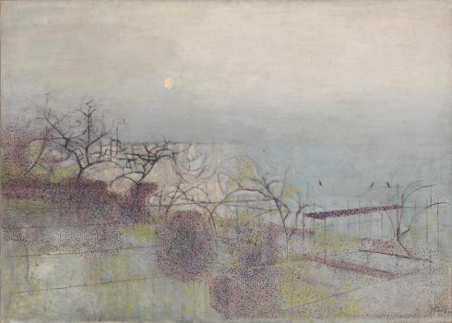 The Hanging Gardens of Hammersmith, No. 1 1944-7 by Victor Pasmore 1908-1998