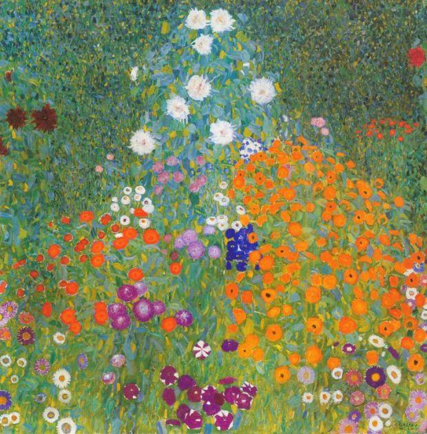 Cottage Garden Klimt 1905-1907