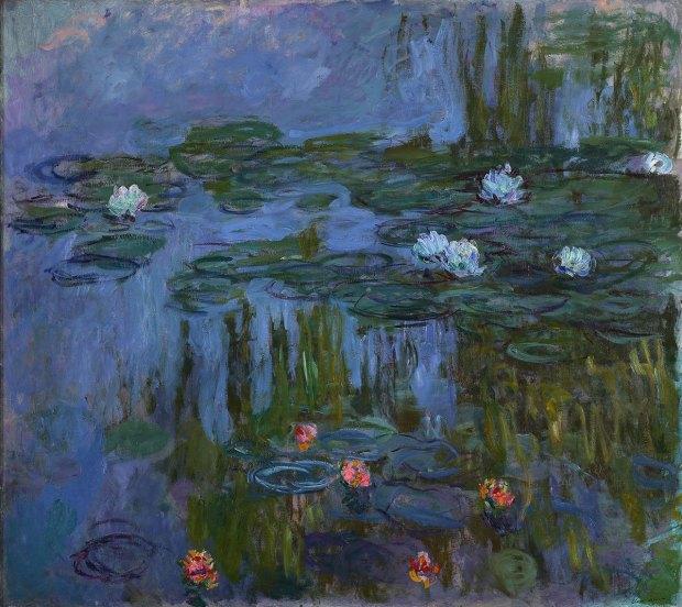 Monets waterlillies