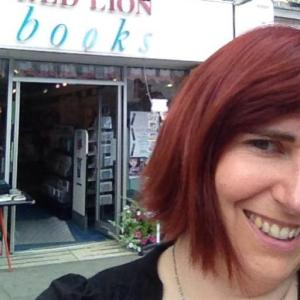 Erica from Bookshop Around The Corner